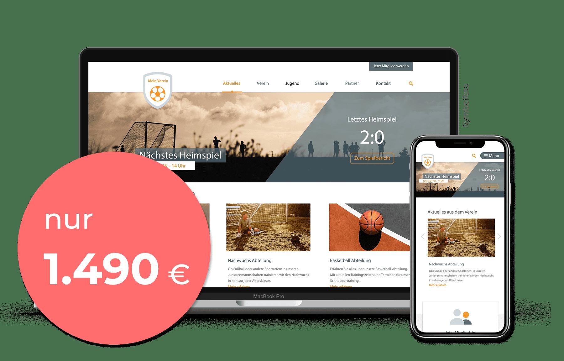 Website-Paket Basic