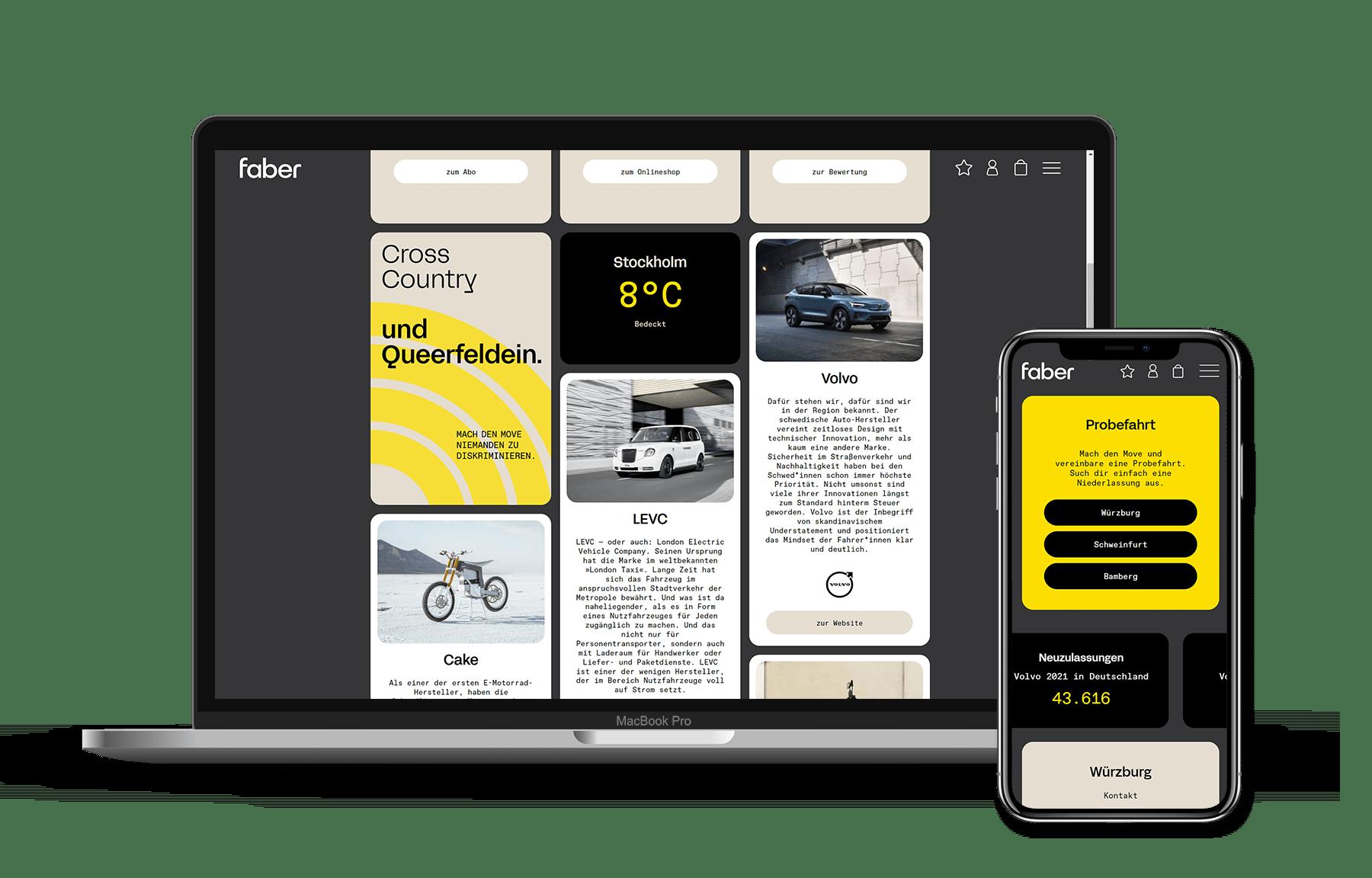id23 Webdesign - Referenz Landingpage