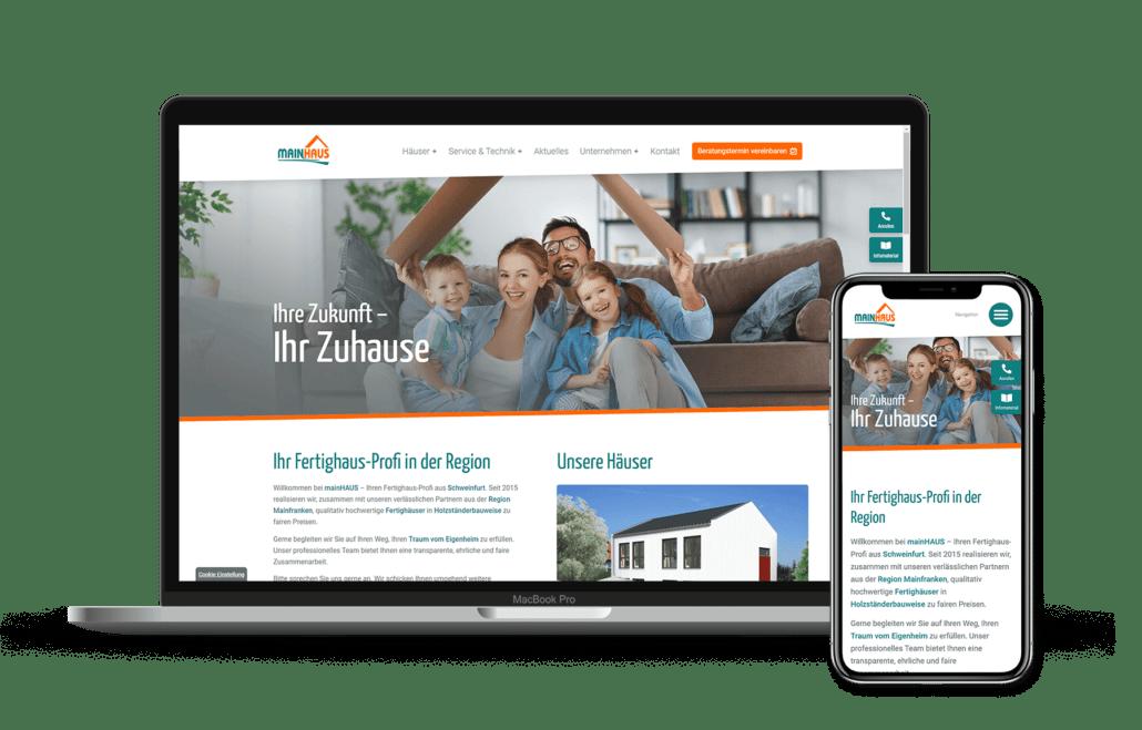 mainHAUS Fertighaus-Profi aus Schweinfurt