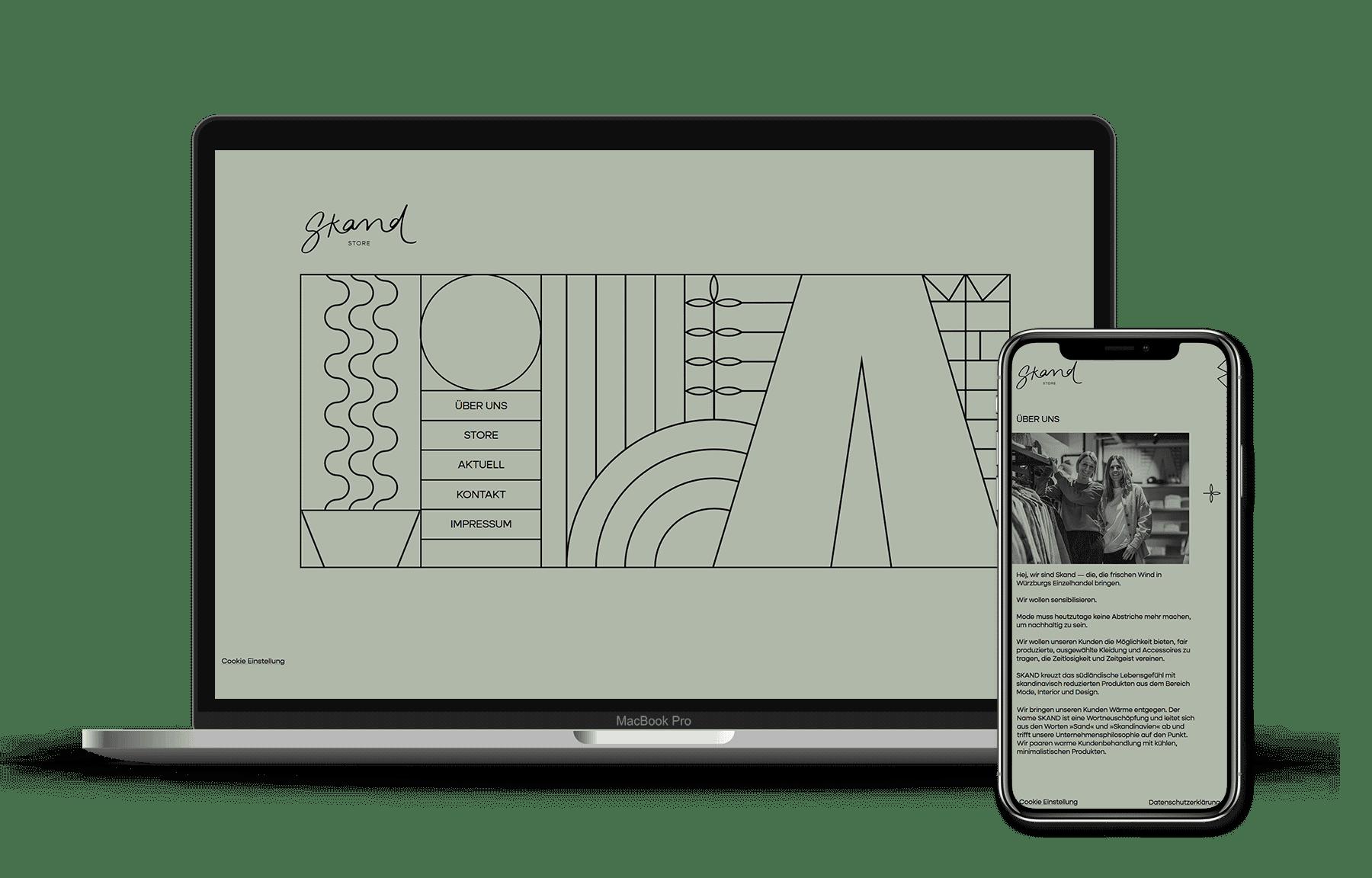 id23 Webdesign - Skand-Store Würzburg